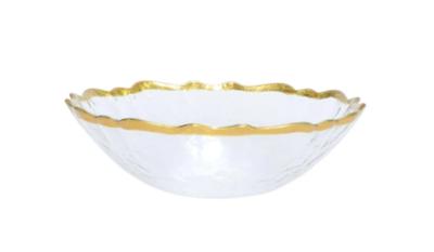 Baroque Glass Small Bowl
