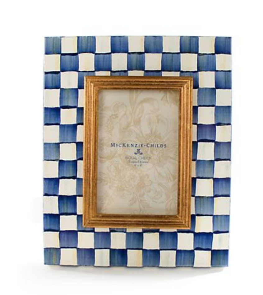 Royal Check Frame 4x6