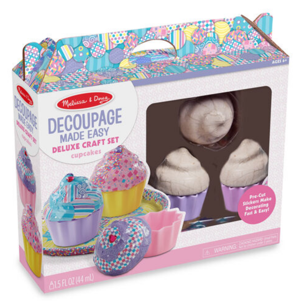 Decoupage Made Easy Deluxe Craft Set - Cupcakes #30108