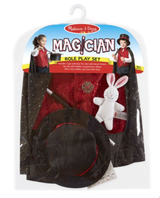 Magician Play Set Costume