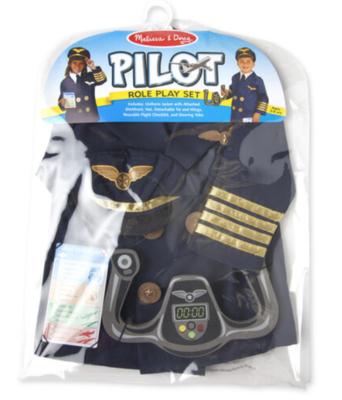 Pilot Play Set Costume