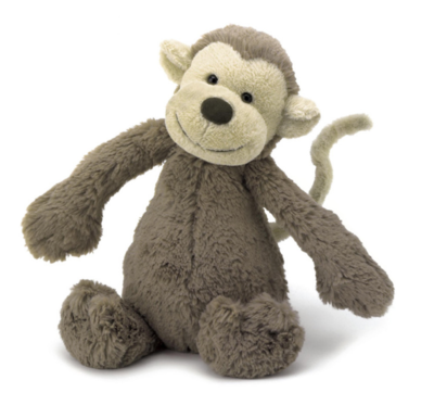 Bashful Monkey - Medium #BAS3MK