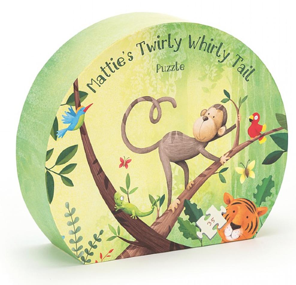 Mattie's Twirly Whirly Tail Puzzle #PUZ4M