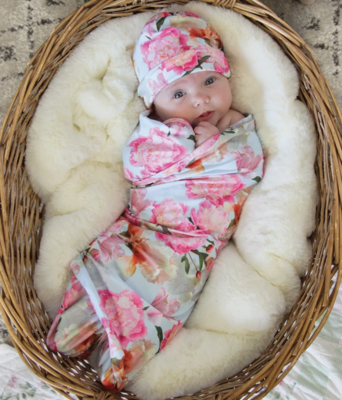Banded Baby Blanket