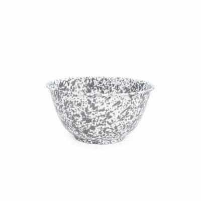 Large Salad Bowl - Grey Marble #D23GYM