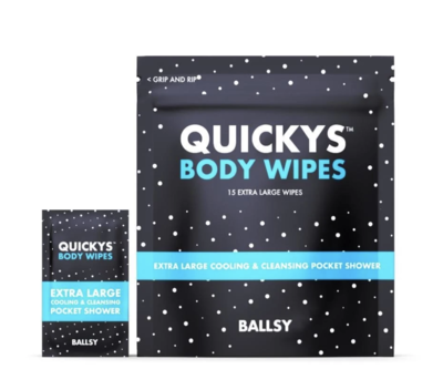 Quickys Ball and Body Wipes