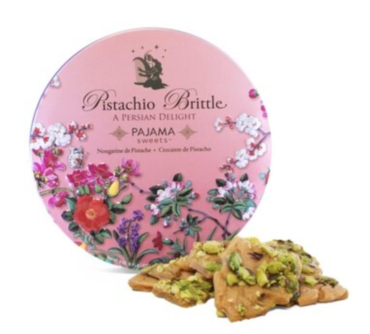 Pistachio Brittle Pink Tin