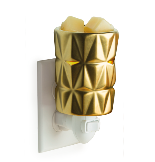 Gold Facets Fragrance Warmer