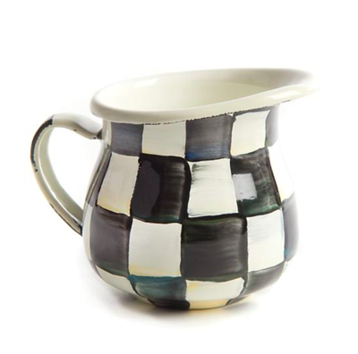 Courtly Check Enamel little Creamer