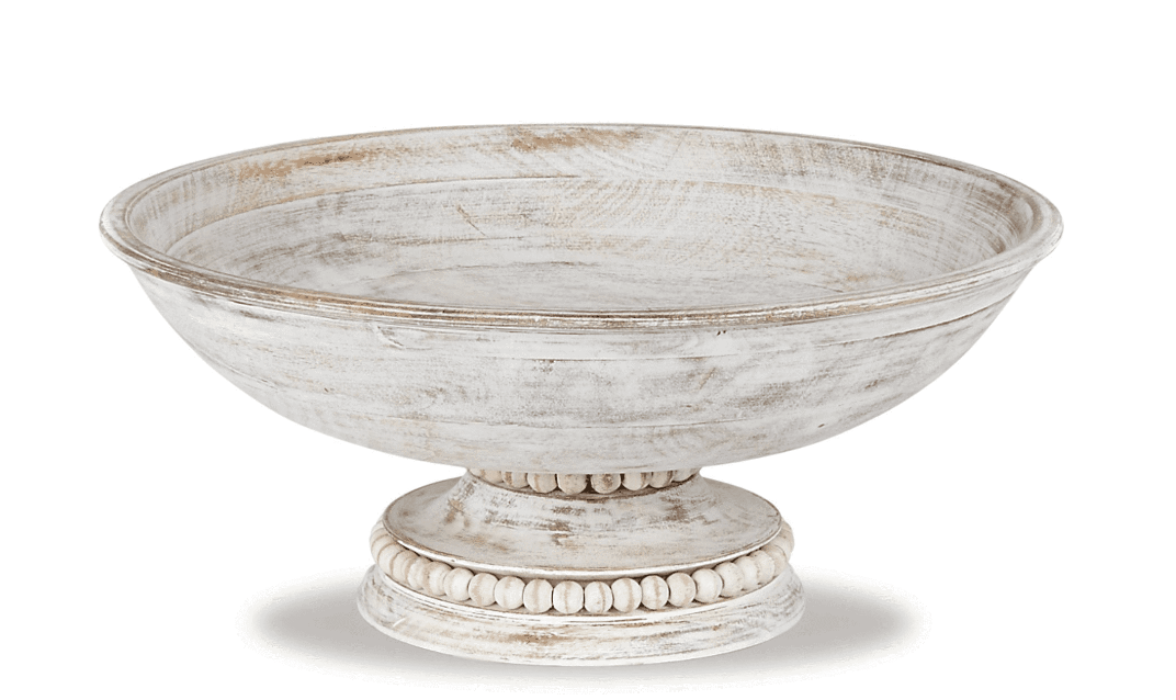 Beaded Pedestal Serving Bowl #4604044