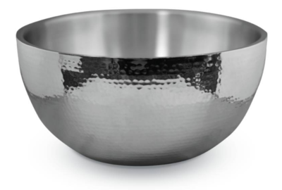 6qt Hammered Double Wall Bowl