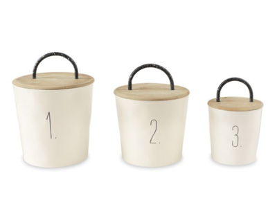 Bistro Canister Set of 3 #4934004