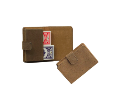 Playing Card Set Faux Suede