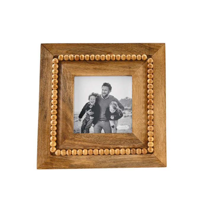 Square Beaded Wood Frame #46900235S