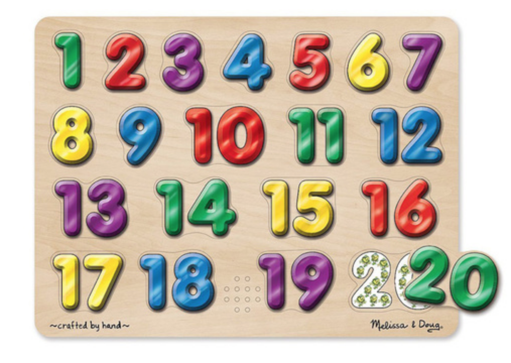 Numbers Puzzle in Spanish