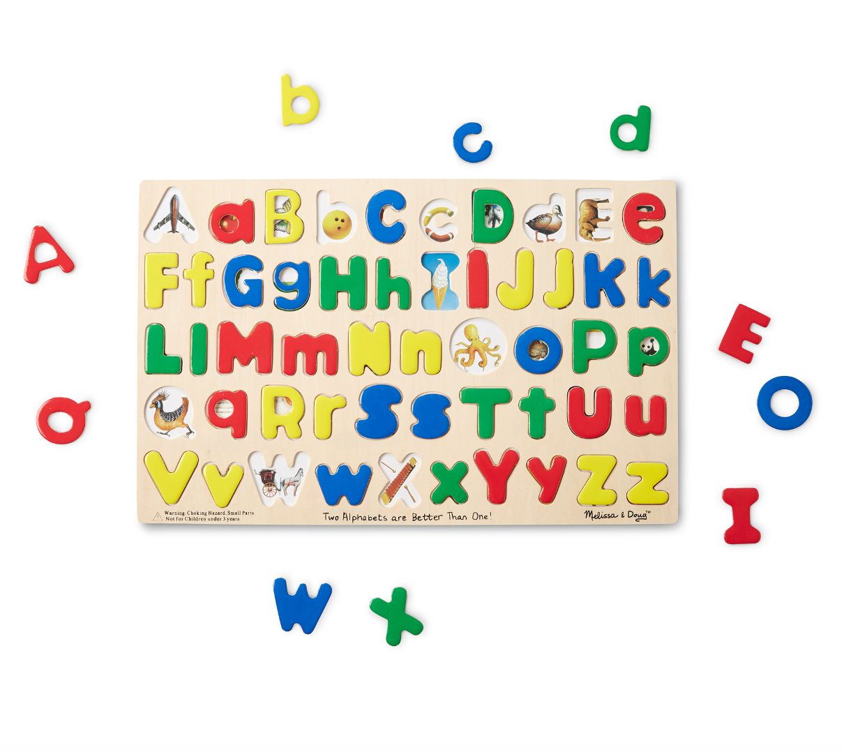 Two Alphabets are Better Than One Puzzle