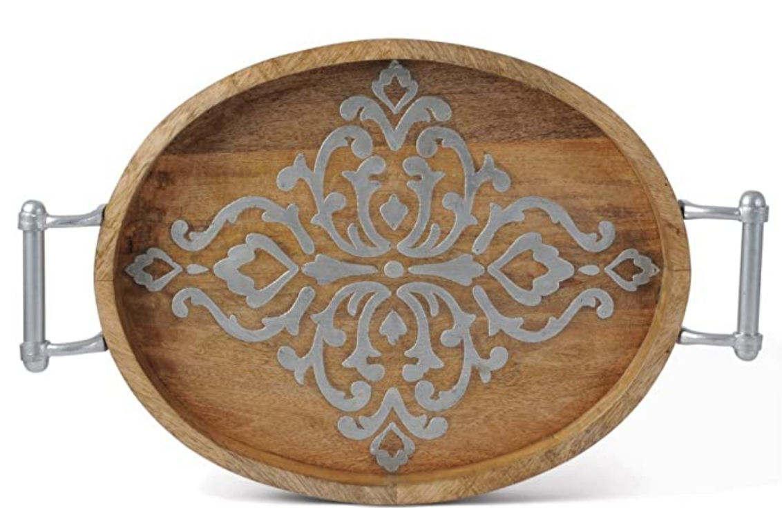 Heritage Large Oval Tray With Handles #92844