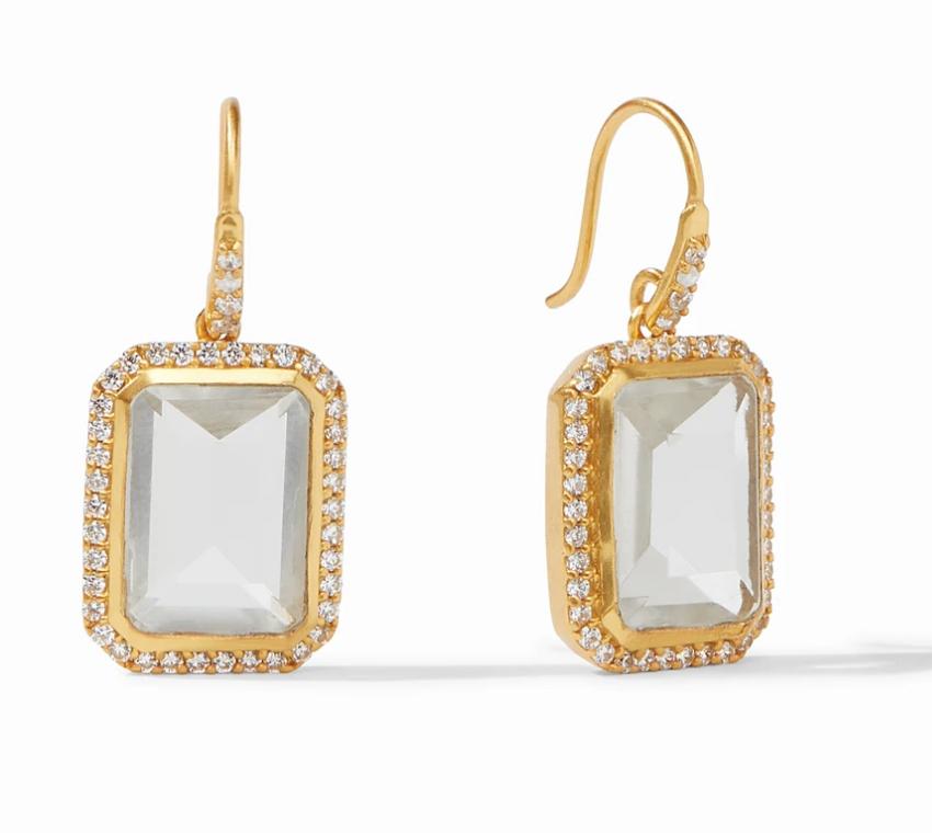 ER574GRC00 Clara Luxe Earring Clear Crystal