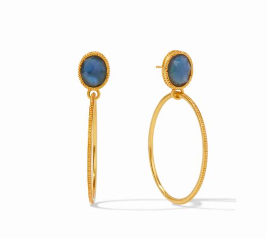 ER593GIAB00 Verona Earrings Azure Blue