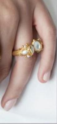 R121GIRCPL-8/9 Savannah Ring