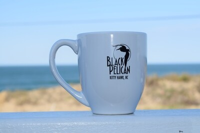Black Pelican Coffee Mug- 12oz