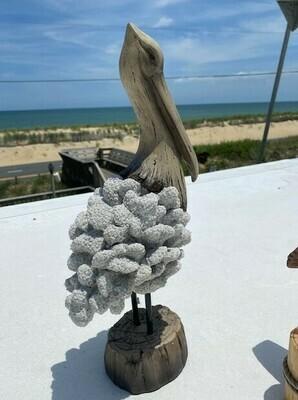 Beach Comber Coral Pelican