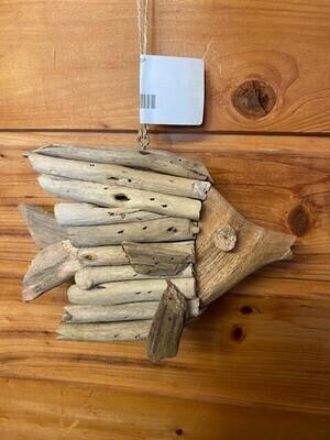 Driftwood Fish Ornament