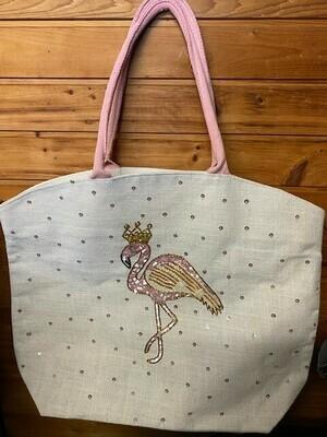Princess Flamingo Tote