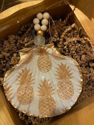 Handmade Clam Shell Ornament