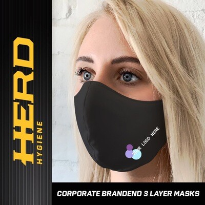 Corporate Branded Face Mask