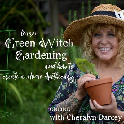 Learn Green Witch Gardening Online