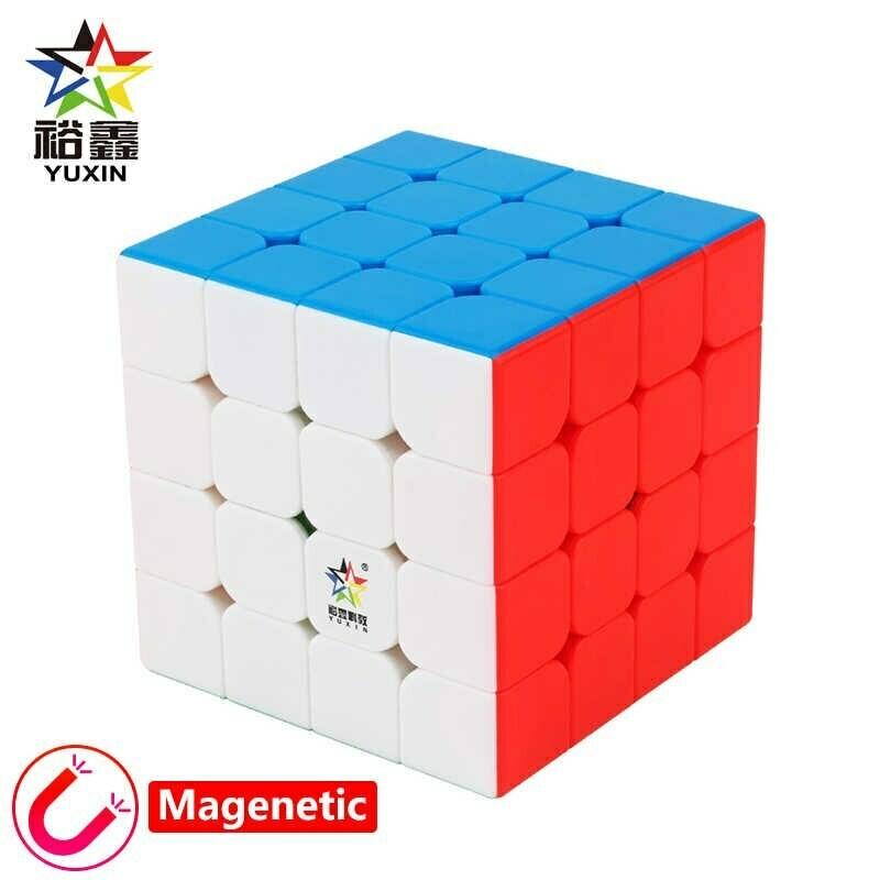 Головоломка YUXIN LITTLE MAGIC 4x4x4 magnetic