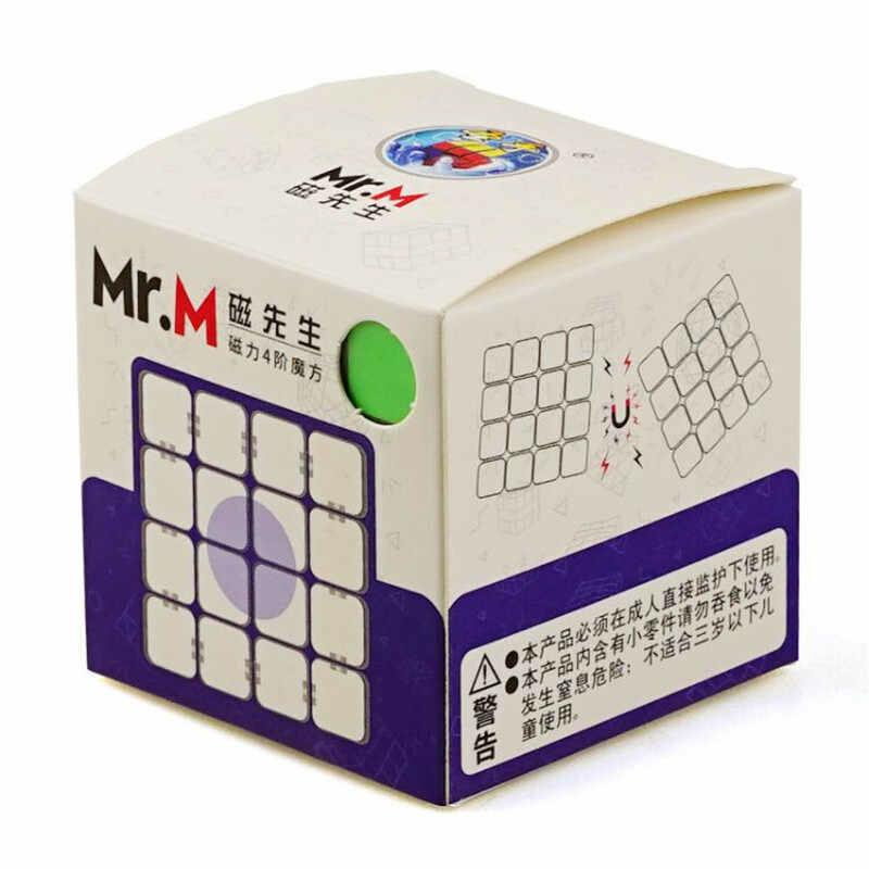 Головоломка SHENGSHOU MR. M 4x4x4 magnetic