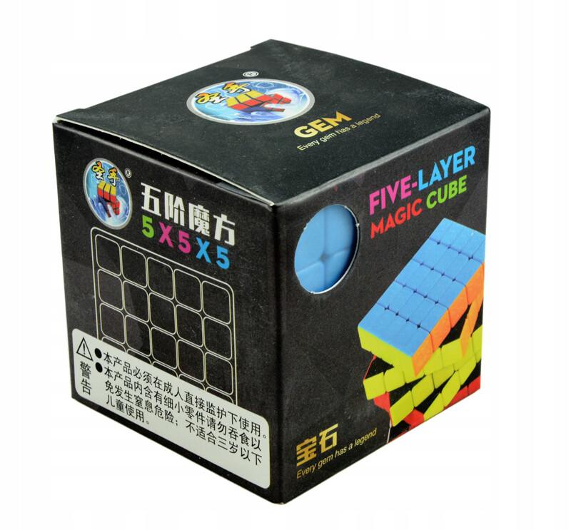 Головоломка ShengShou GEM 5x5x5 color
