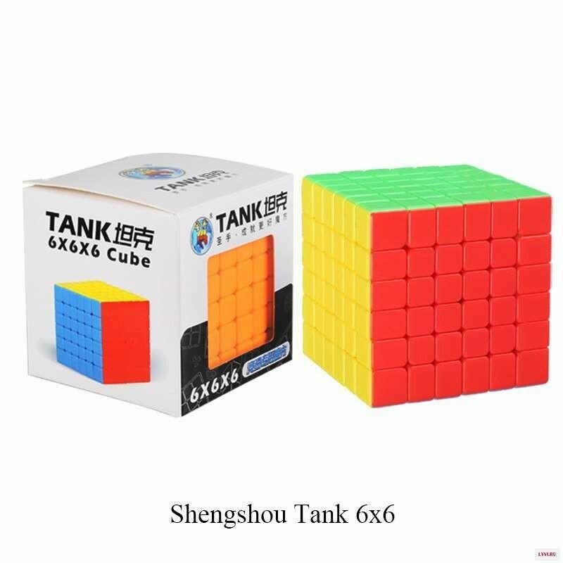 Головоломка ShengShou TANK 6x6x6 color