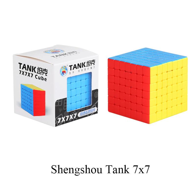 Головоломка ShengShou TANK 7x7x7 color