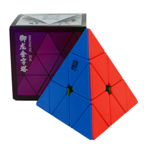 Головоломка YJ YULONG V2 PYRAMINX MAGNETIC color