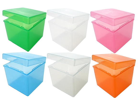 Бокс для кубика Рубика 57мм пластик (уценка)