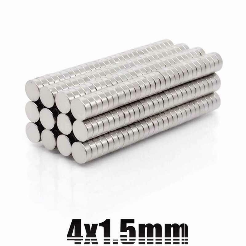 Магниты для кубика Рубика N40  4x1.5 mm для кубика 3х3х3 (50шт)