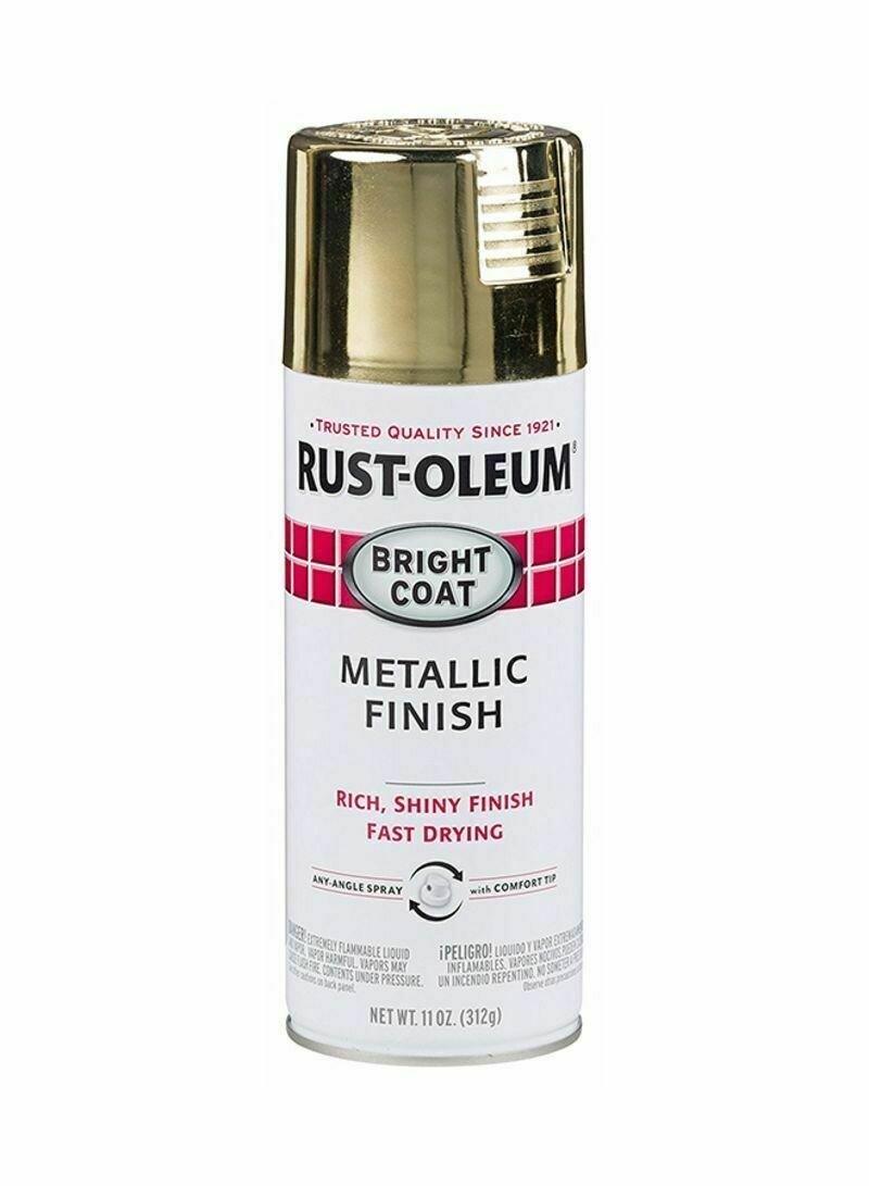 Эмаль с эффектом сияющего металлика Stops Rust