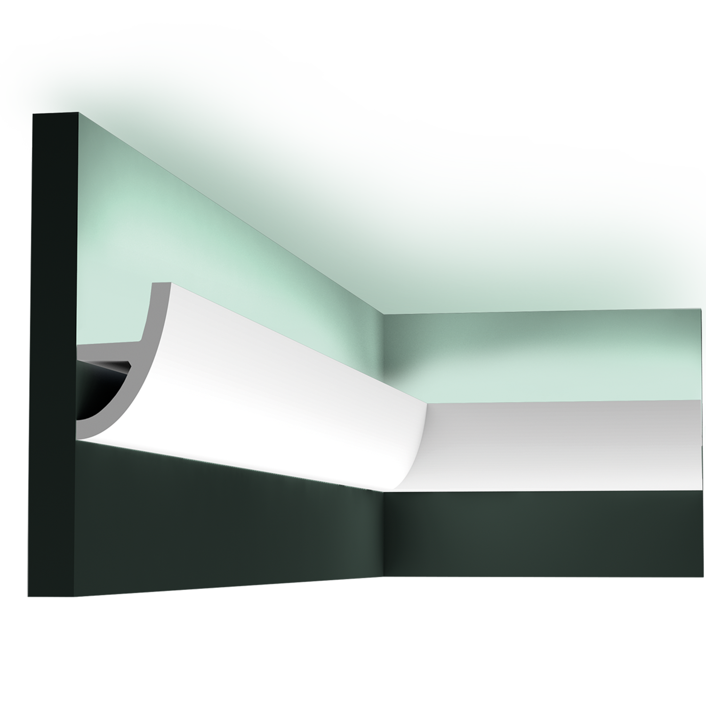 С 373 карниз, профиль для скрытого освещения Orac Décor