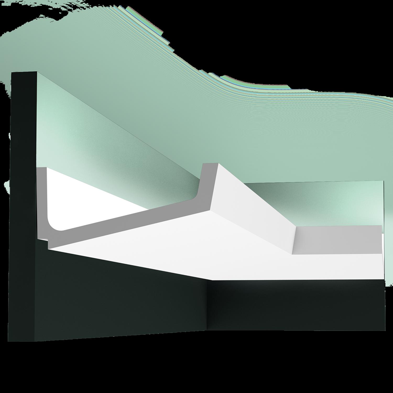 С 352 карниз, профиль для скрытого освещения Orac Décor