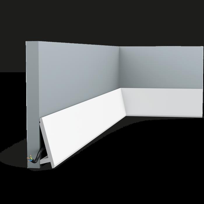 SX 179 плинтус, профиль для скрытого освещения  Orac Décor