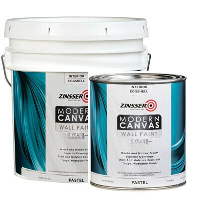 Краска интерьерная для стен самогрунтующаяся Zinsser Modern Canvas