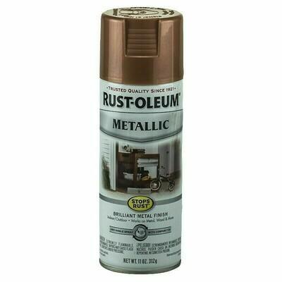 Эмаль антикоррозийная с эффектом металлика Stops Rust