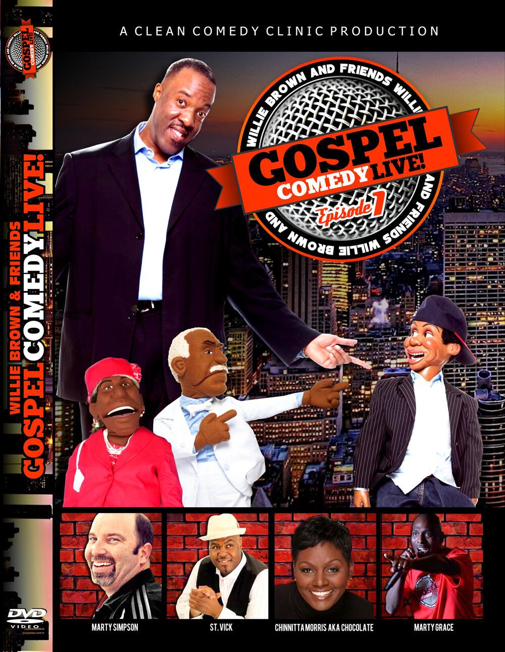 Gospel Comedy Live Episode #1 DVD