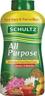 $11.99 Schultz All Purpose Extended Feed Plant Food 19-6-12