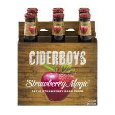 Cider Boys Strawberry Magic (6 pack)