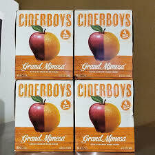 Cider Boys Grand Mimosa (4 pack) CANS