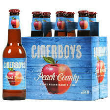 Cider Boys Peach Country (6 Pack) BOTTLES